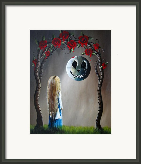 Alice And The Beautiful Nightmare By Shawna Erback Framed Print By Shawna Erback