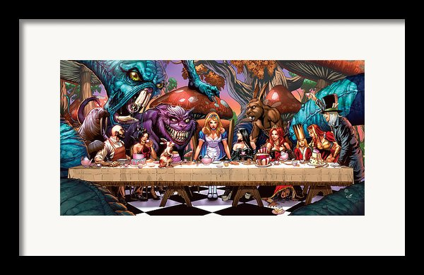 Alice In Wonderland 06a Framed Print By Zenescope Entertainment