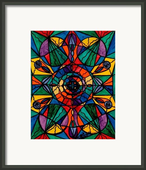 Alignment Framed Print By Teal Eye  Print Store