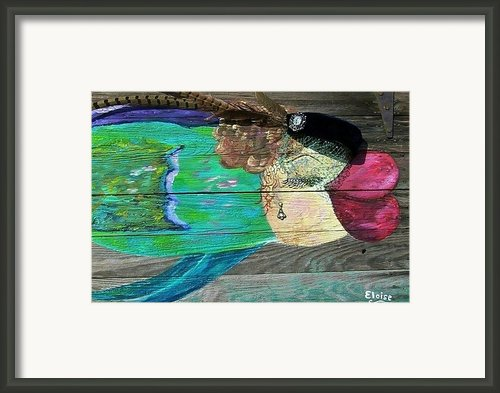 All Dressed Up And Nowhere To Swim Framed Print By Eloise Schneider