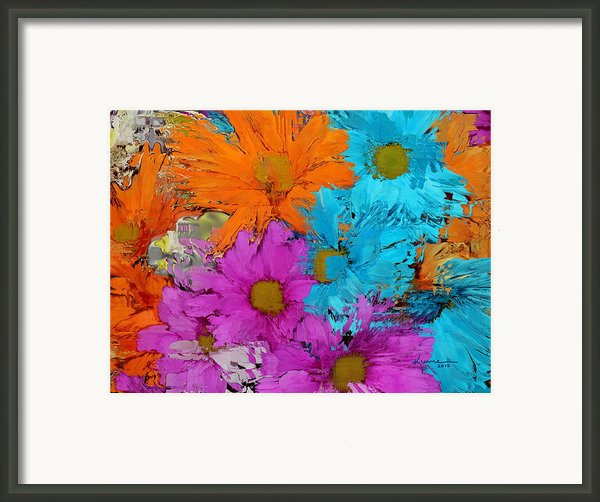 All The Flower Petals In This World 2 Framed Print By Kume Bryant