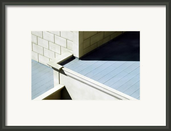 All Those Angles Framed Print By Dan Holm