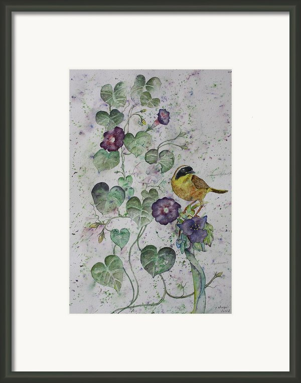 Almost Botanical Framed Print By Patsy Sharpe
