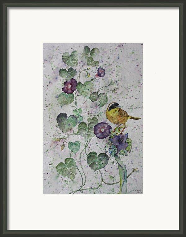 Almost Botanical Framed Print By Patsy Sharpe