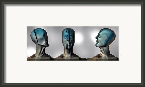 Almost Man In The Middle Framed Print By Bob Orsillo