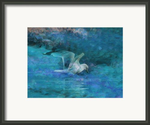 Alone Framed Print By Jack Zulli