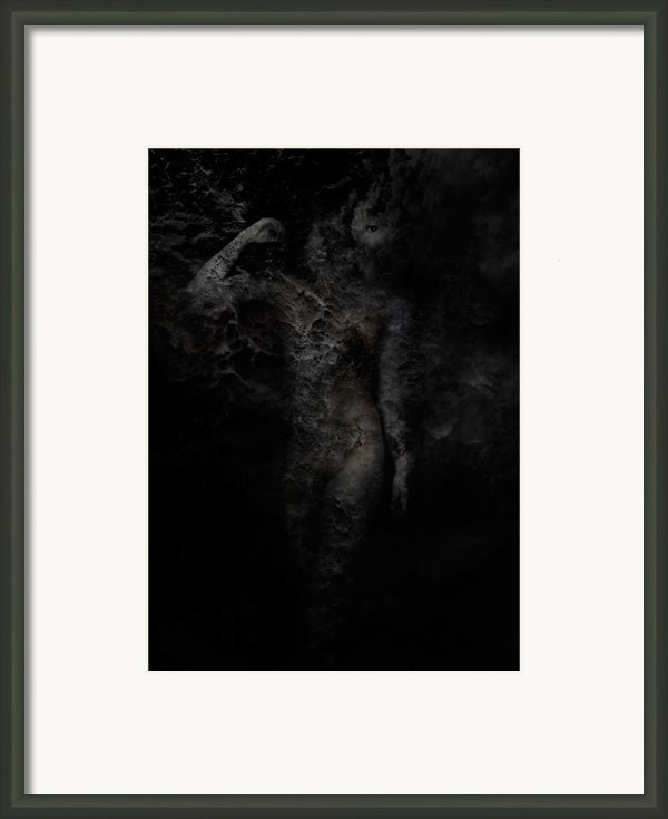 Alone With Her Thoughts Framed Print By David Fox