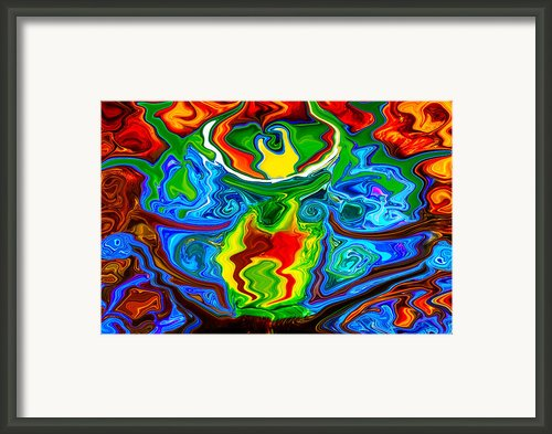 Along Came A Spider Framed Print By Omaste Witkowski