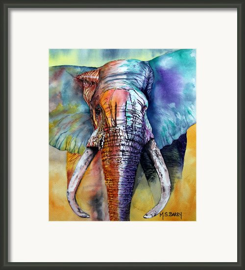 Alpha Framed Print By Maria Barry