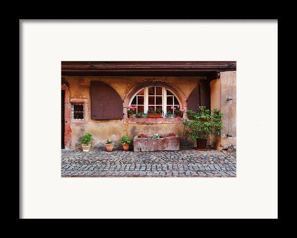Alsatian Home In Kaysersberg France Framed Print By Greg Matchick