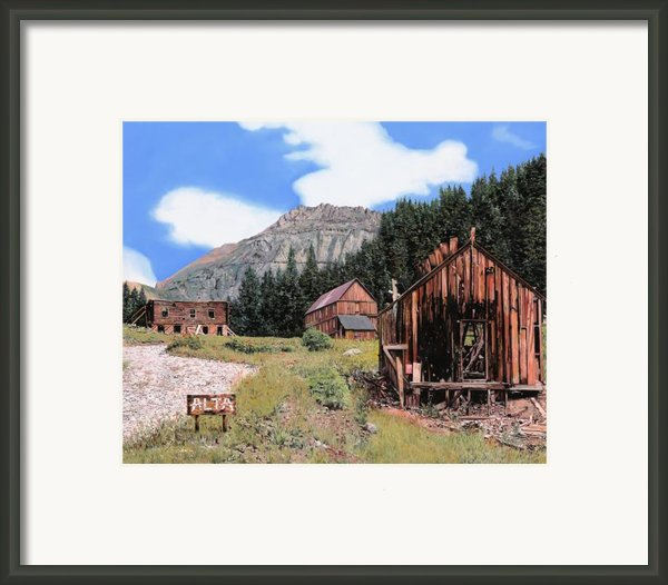 Alta In Colorado Framed Print By Guido Borelli