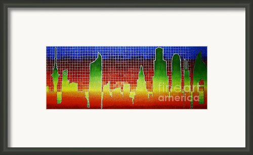 Altered Familiarity Framed Print By Sean Ward