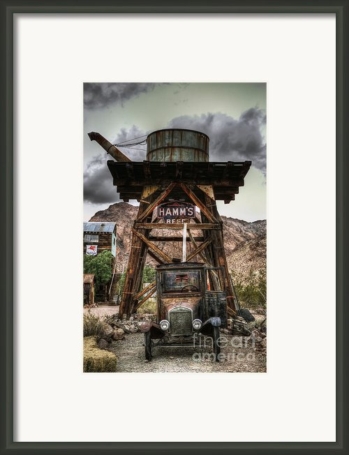 Alternative Fuel Framed Print By Eddie Yerkish