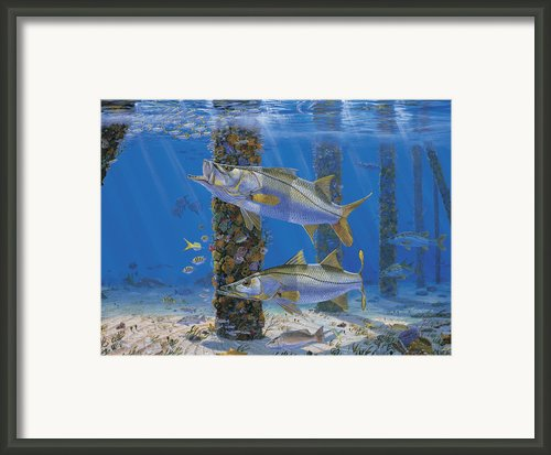 Ambush In0027 Framed Print By Carey Chen