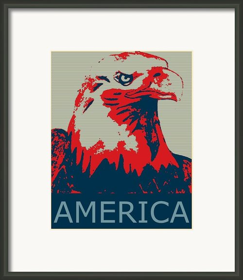 America Framed Print By Mark Braxton