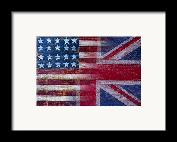 American British Flag Framed Print By Garry Gay