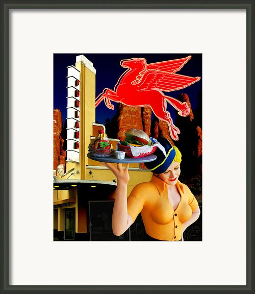 American Dream Framed Print By Keith Dillon