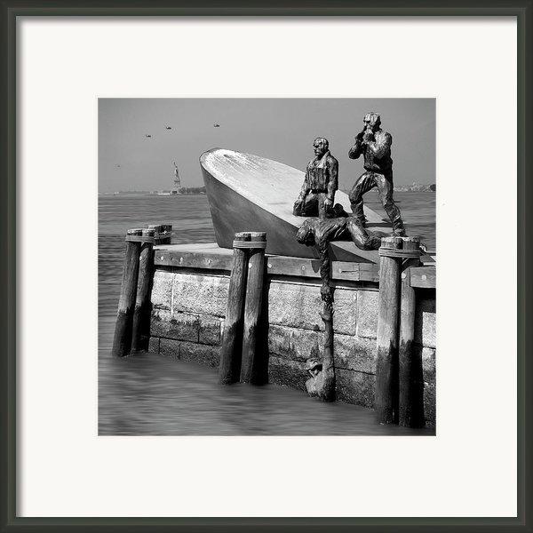 American Merchant Mariners Memorial Framed Print By Mike Mcglothlen