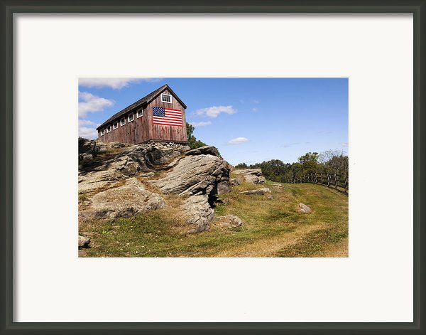 American Patriot Framed Print By Bill  Wakeley
