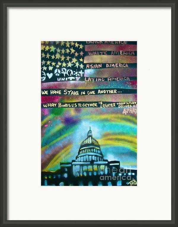 American Rainbow Framed Print By Tony B Conscious
