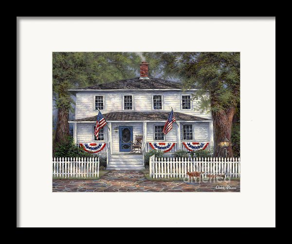 American Roots Framed Print By Chuck Pinson