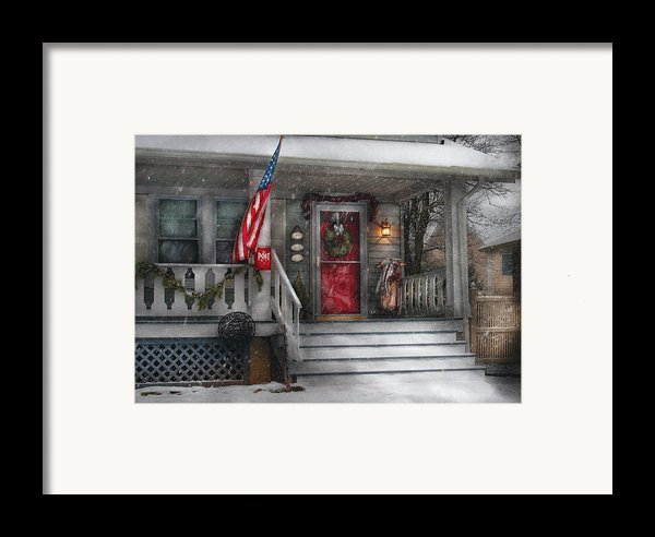 Americana - A Tribute To Rockwell - Westfield Nj Framed Print By Mike Savad