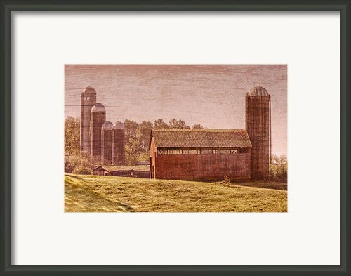 Amish Farm Framed Print By Debra And Dave Vanderlaan