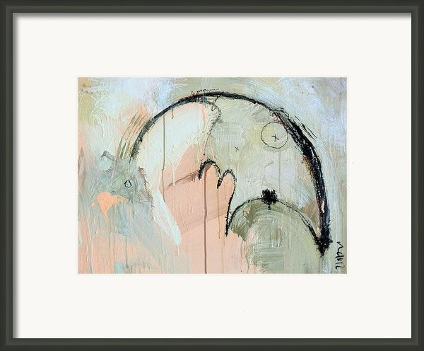 An Allegory Of Things Unknown 6 Framed Print By Mark M  Mellon