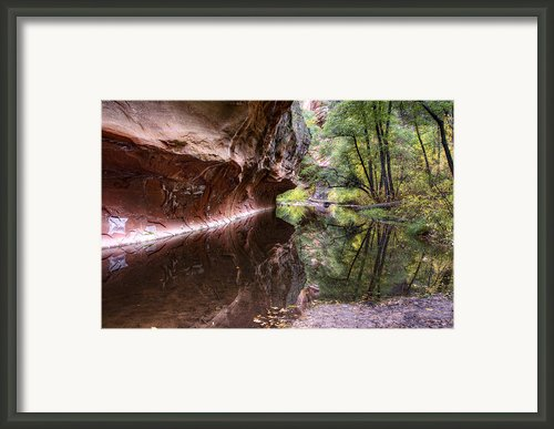 An Autumn Day In West Fork  Framed Print By Saija  Lehtonen