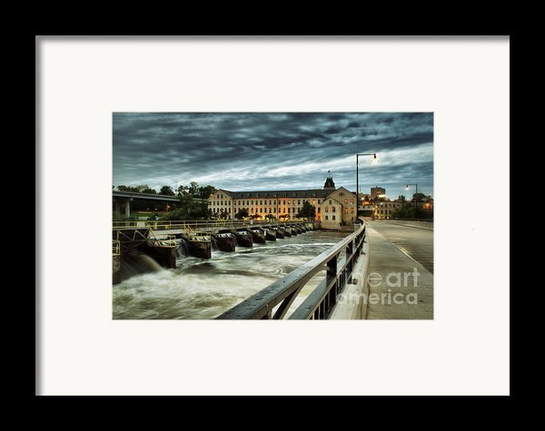 An Evening Down In The Flats Framed Print By Shutter Happens Photography