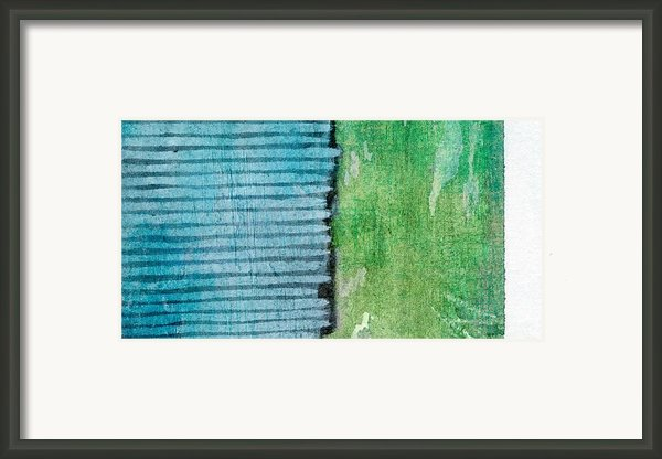 An Indirect Reflection Framed Print By Brett Pfister