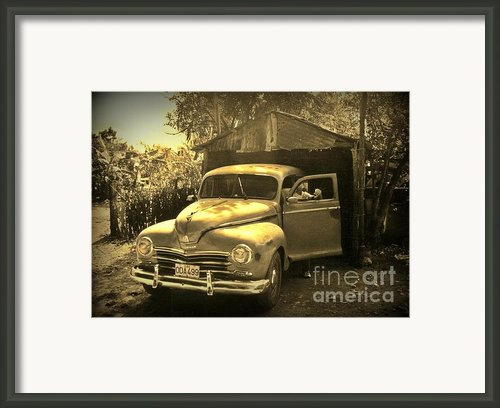 An Old Hidden Gem Framed Print By John Malone