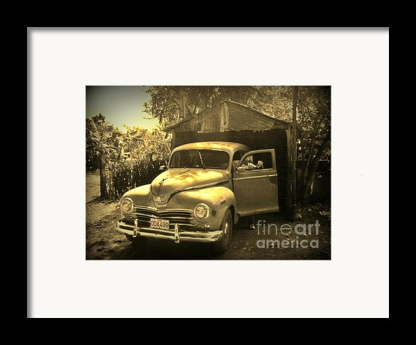 An Old Hidden Gem Framed Print By John Malone
