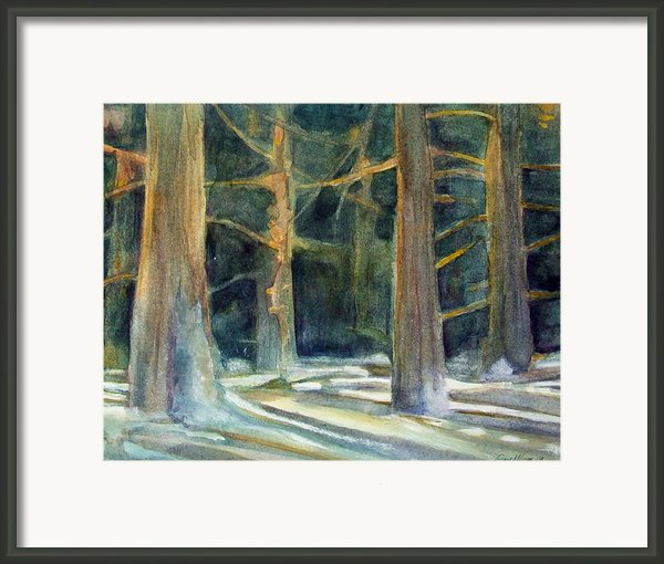 Ancient Light Framed Print By Grace Keown