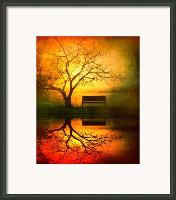 And I Will Wait For You Until The Sun Goes Down Framed Print By Tara Turner