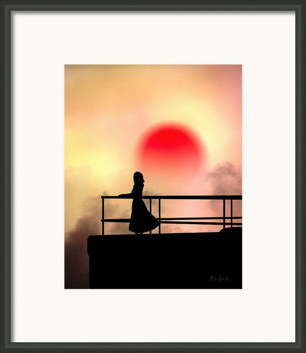 And The Sun Also Rises Framed Print By Bob Orsillo
