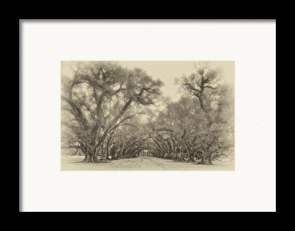 And Time Stood Still Sepia Framed Print By Steve Harrington