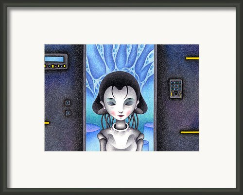 Android Framed Print By T Koni