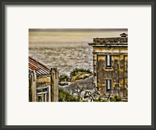 Angel Island State Park California Fort Mcdowell -  Barracks By The Bay Framed Print By David Rigg