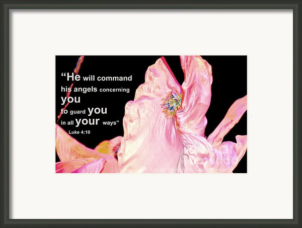 Angels Will Guard You Framed Print By Artist And Photographer Laura Wrede