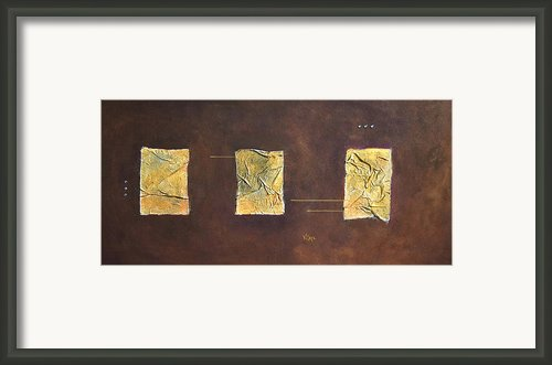 Anima Fenestres Framed Print By Vital Germaine