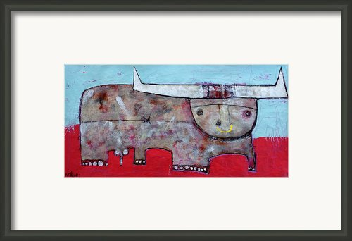 Animalia  Taurus 1 Framed Print By Mark M  Mellon