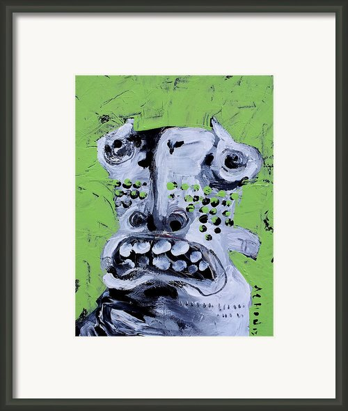 Animus No 10 Framed Print By Mark M  Mellon