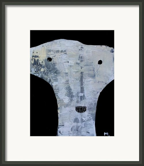 Animus No 12 Framed Print By Mark M  Mellon