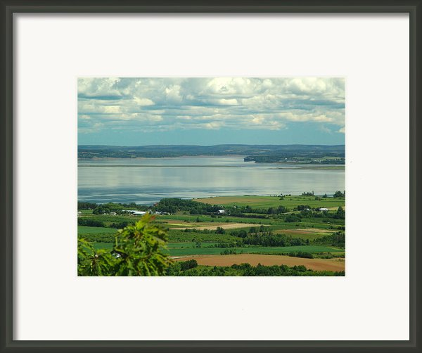 Annapolis Valley No.1 Framed Print By George Cousins