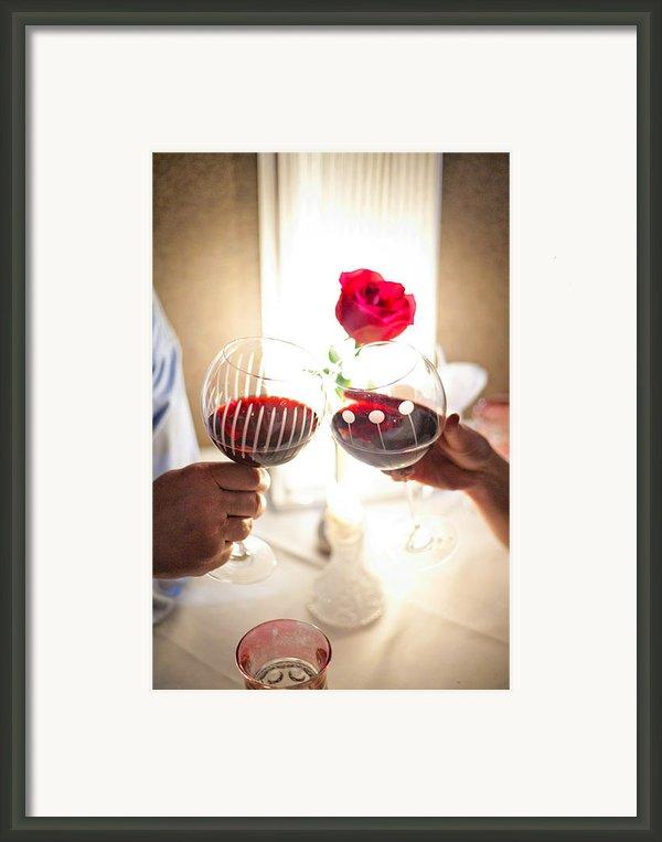 Anniversary Framed Print By Shanna Gillette