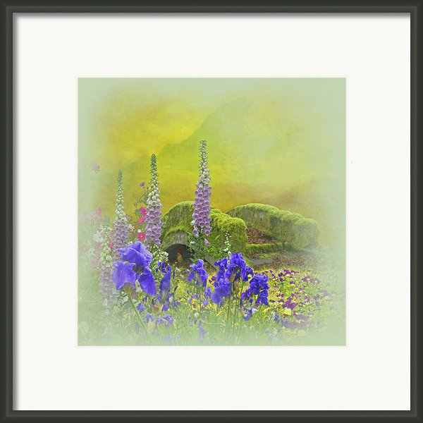 Another Mythical Landscape Framed Print By Jeff Burgess