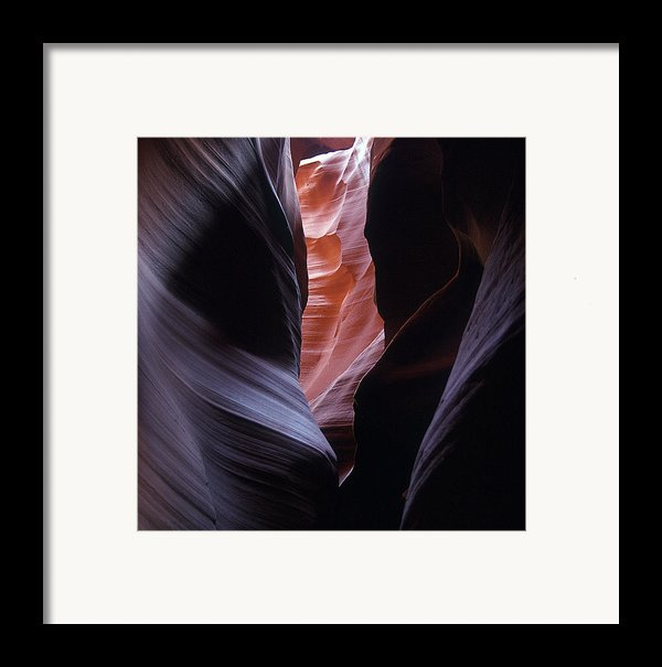 Antelope Canyon 5 Framed Print By Jeff Brunton