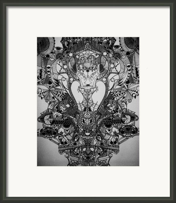 Antichrist Framed Print By Michael Kulick