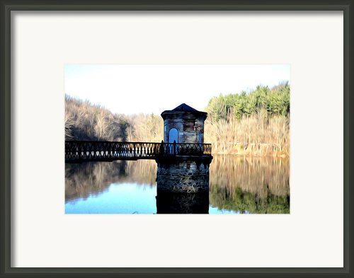 Antietam Creek Reading Pa Framed Print By Bill Cannon